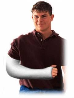Какие суставы фиксируются при переломе плеча? 197